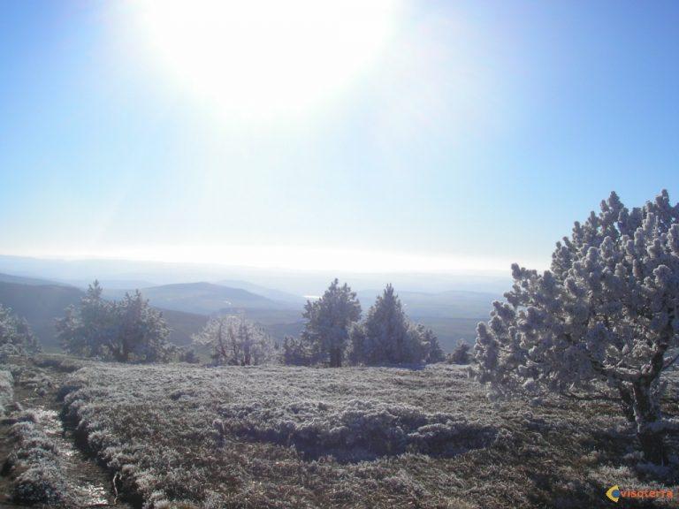 photo image paysage givré