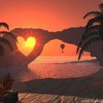 Image paysage coeur