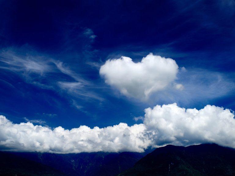 photo image paysage coeur