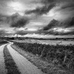 Image paysage noir et blanc