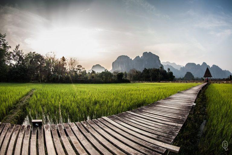 photo photo paysage cambodge