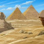 Paysage égyptien