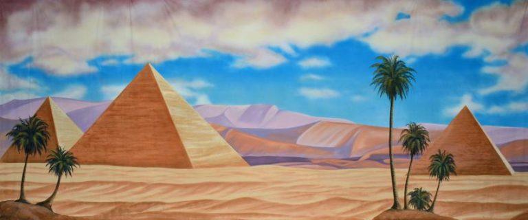 photo paysage égyptien