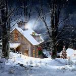 paysage hiver gratuit
