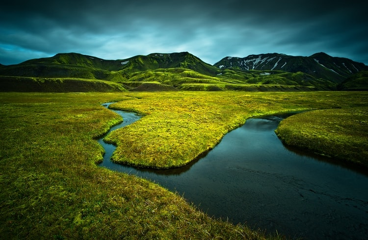 photo photo paysage islande