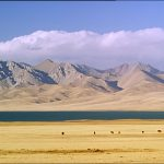 Paysage kirghizistan