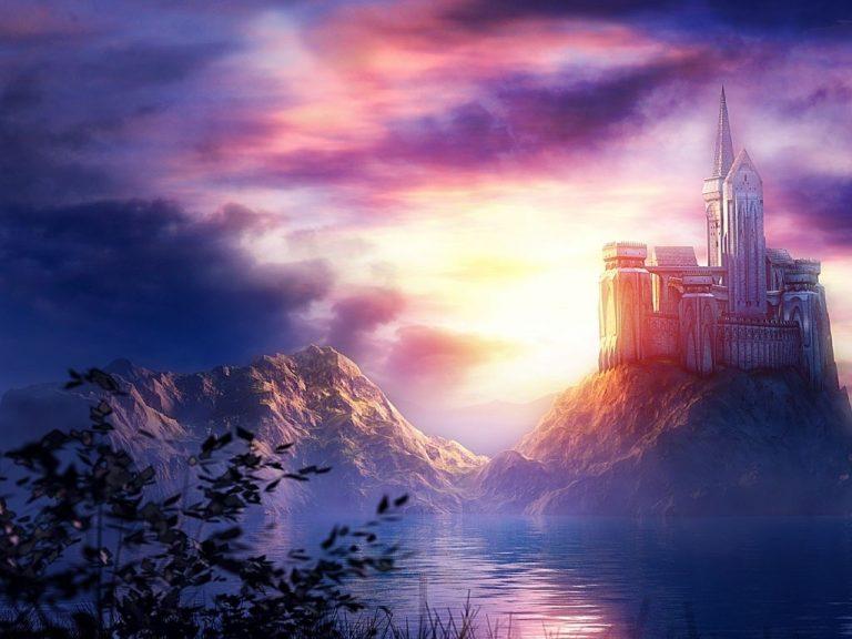 photo paysage magique