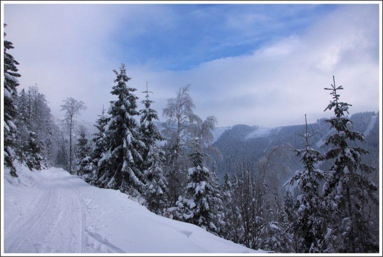 photo photo paysage ski