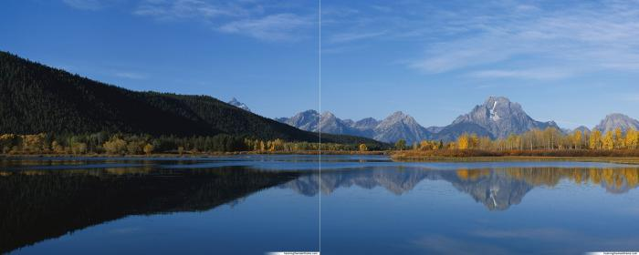 photo image paysage apaisant