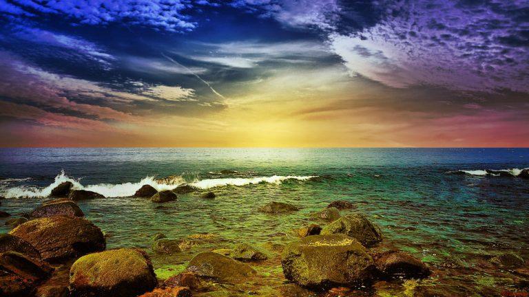 photo image paysage coloré