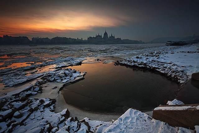 photo photo paysage hongrie