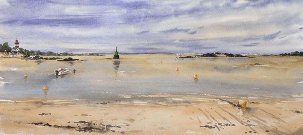 photo photo paysage marin breton