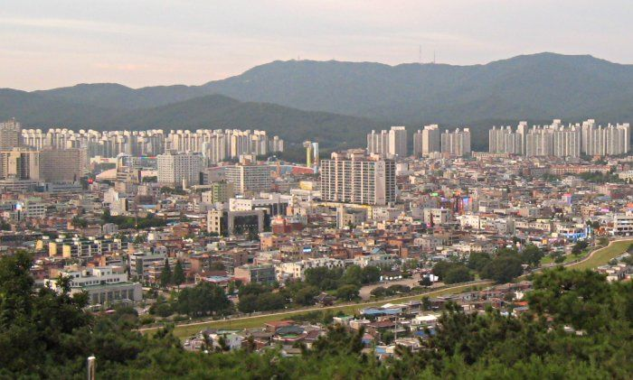 photo photo paysage ville