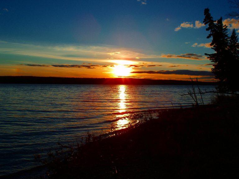 photo image paysage avec soleil