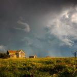 Image paysage sous la pluie