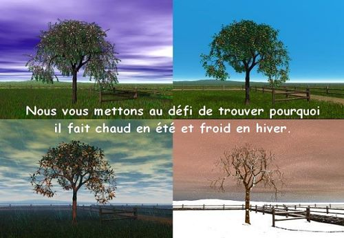 photo photo paysage 4 saisons