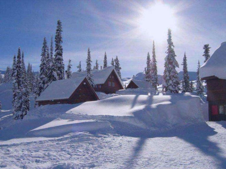 photo photo paysage enneigé