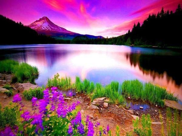 photo paysage féerique