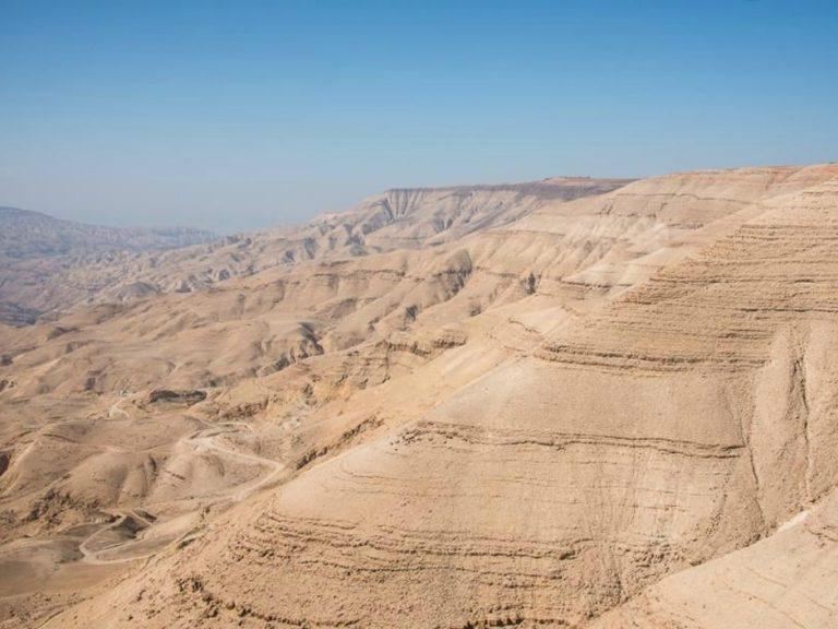 photo paysage jordanie