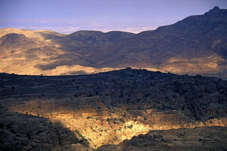 photo paysage jordanie