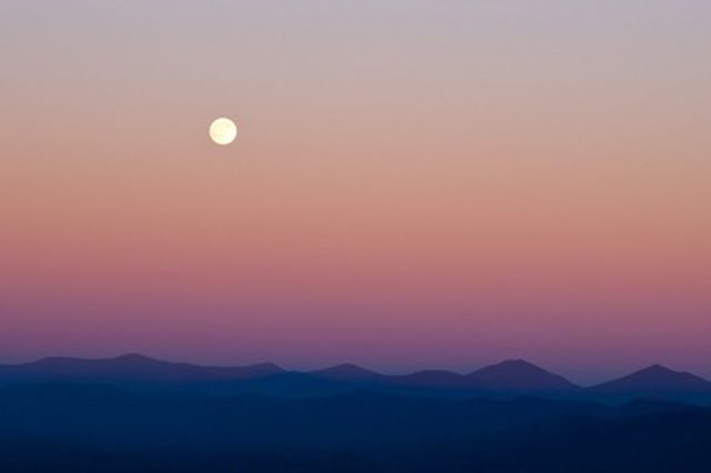 photo paysage lune