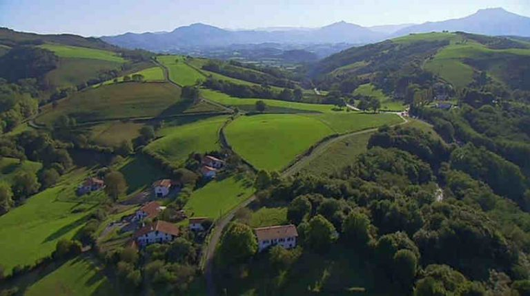 photo photo paysage pays basque