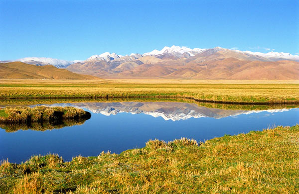 photo photo paysage tibet