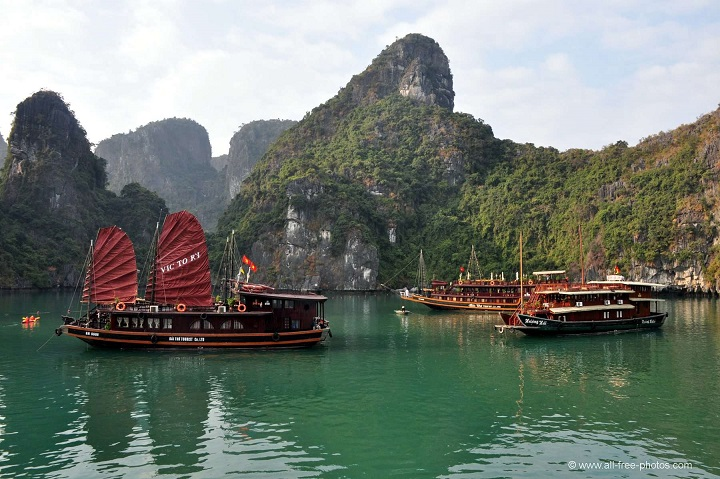 photo photo paysage vietnam