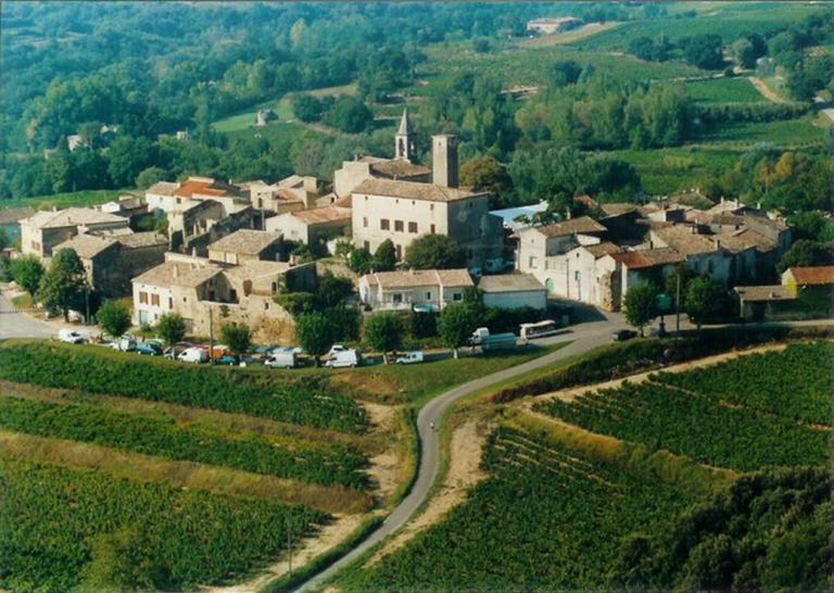 photo paysage village
