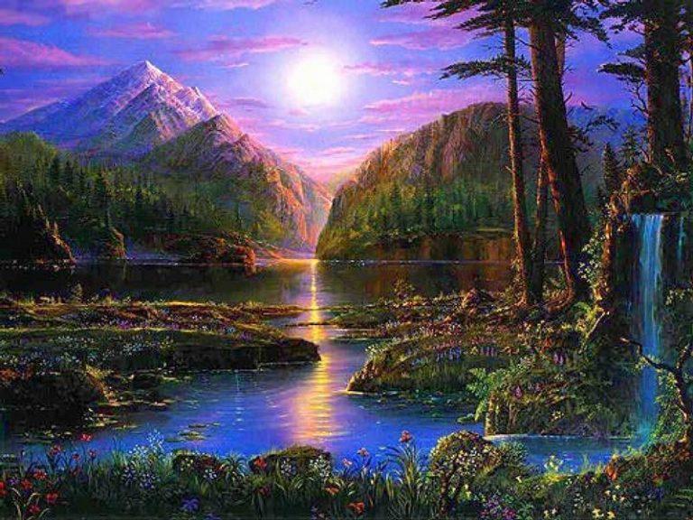 photo paysage montagne