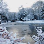 Image paysage neige