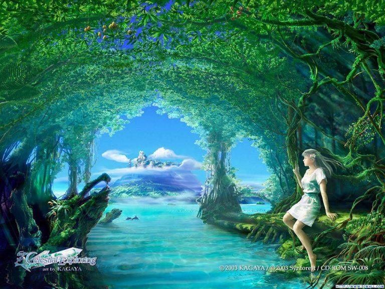 photo paysage fantasy