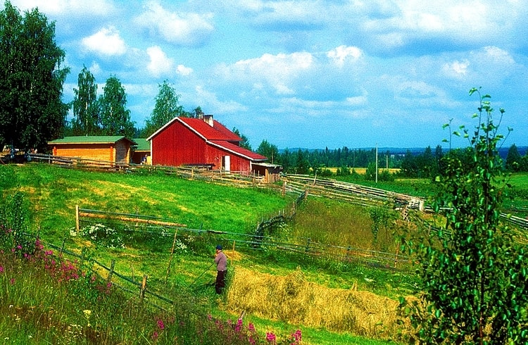 photo photo paysage finlande