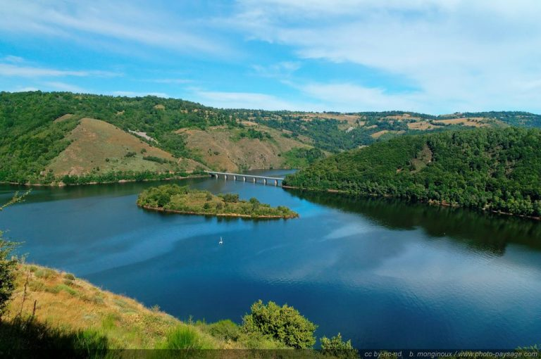 photo paysage lac