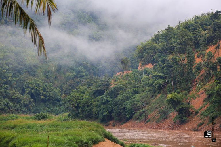 photo paysage laos