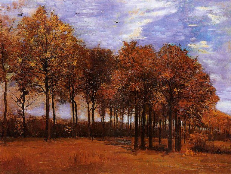 photo paysage van gogh