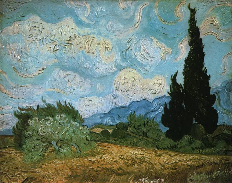 photo paysage van gogh