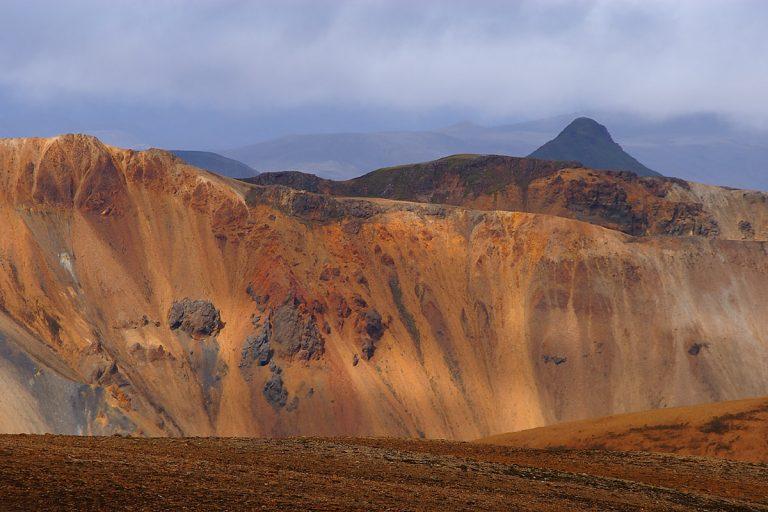 photo paysage volcanique