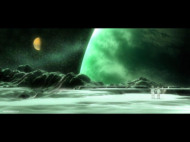 photo image paysage lunaire