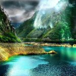 Image paysage paisible