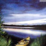 Image paysage peinture