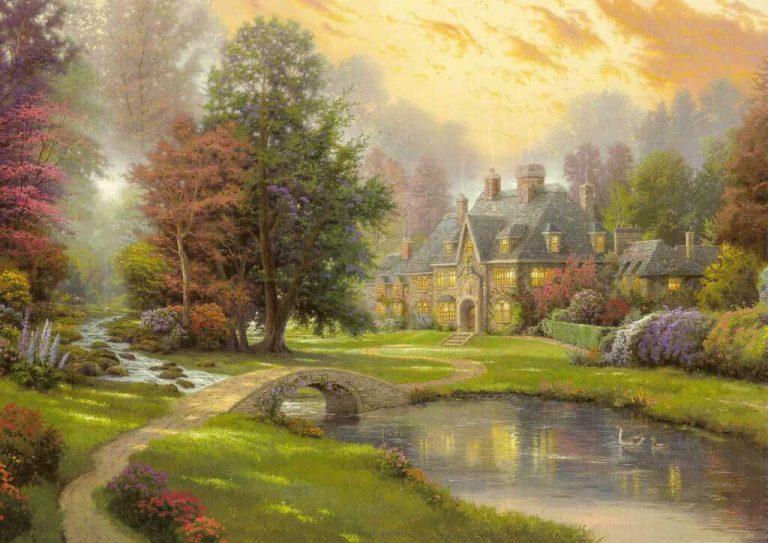 photo image paysage peinture