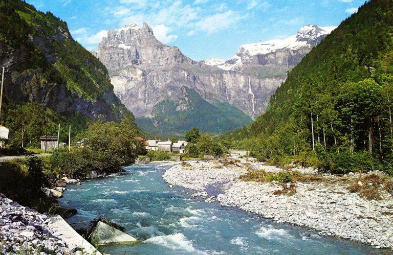 photo photo paysage de montagne