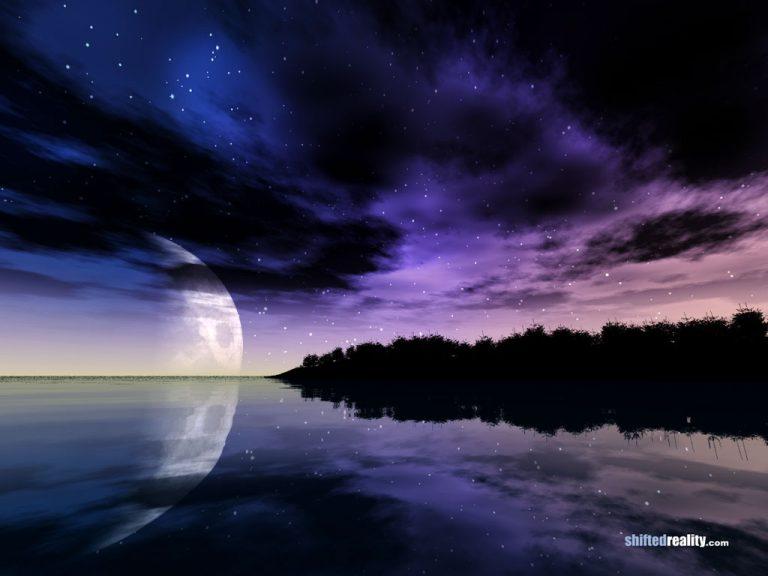 photo paysage nuit