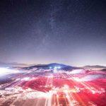 paysage nuit