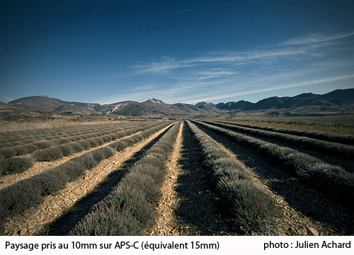 photo photo paysage objectif grand angle