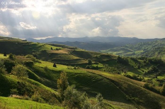 photo photo paysage roumanie