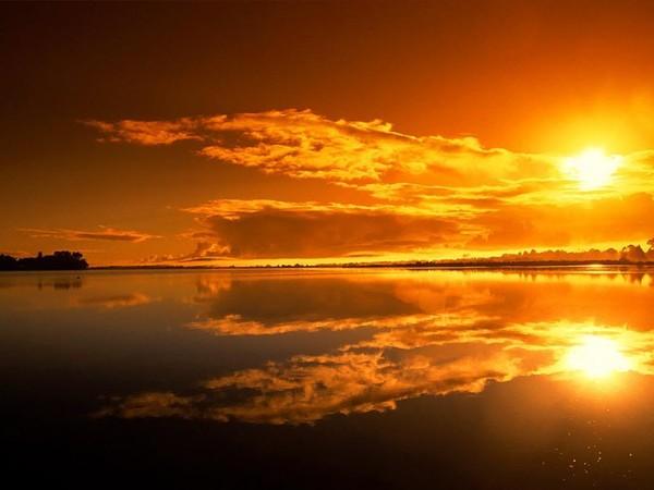 photo paysage coucher de soleil