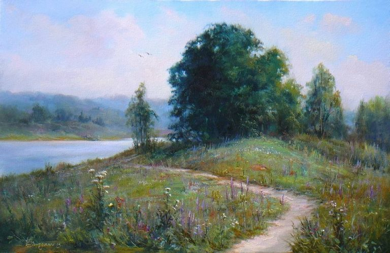 photo image paysage d'été