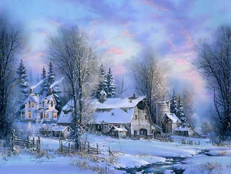 photo photo paysage hiver noel